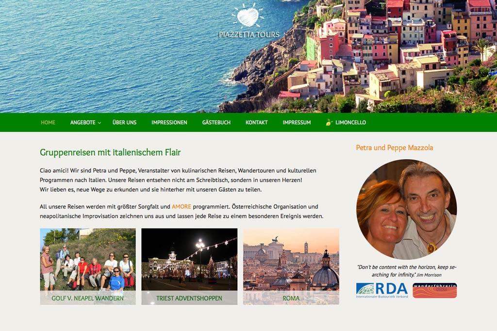 Italienische Gruppenreisen - www.piazzettatours.com