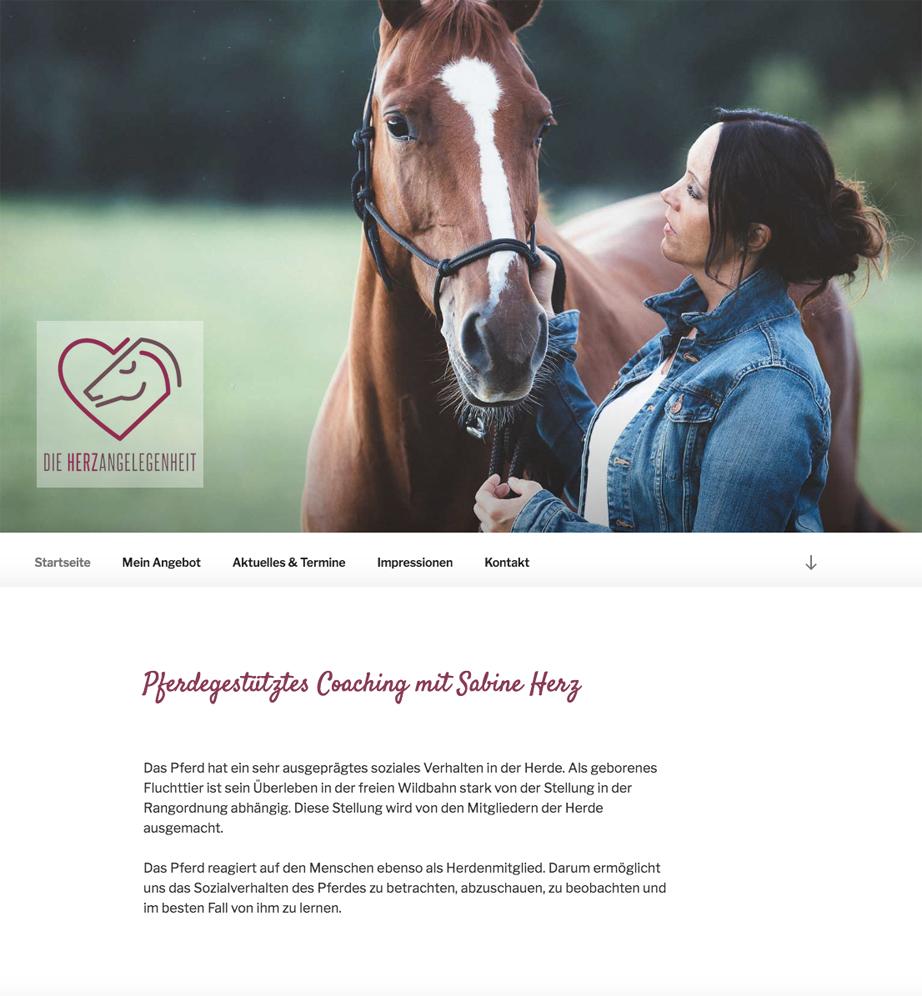 Sabine Herz - die Herzangelegenheit